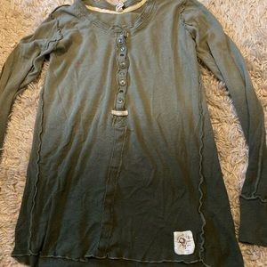 Free People Cozy Up Henley Sz S